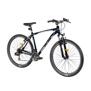 "Horský bicykel DHS Terrana 2723 27,5"" - model 2016 - Black-Grey-Silver"
